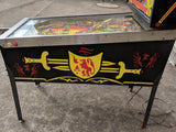 Black Knight Pinball Machine - 100% working - Nice Game!