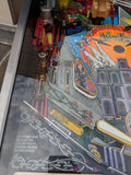 Addams Family Pinball Machine - Works great - Just repaired