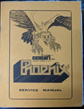 Phoenix - Centauri - Manual - Schematics - Instructions - Used Copy