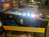 Bally Johnny Mnemonic Pinball Machine - LEDs, plays so good! Super Underrated Pin!