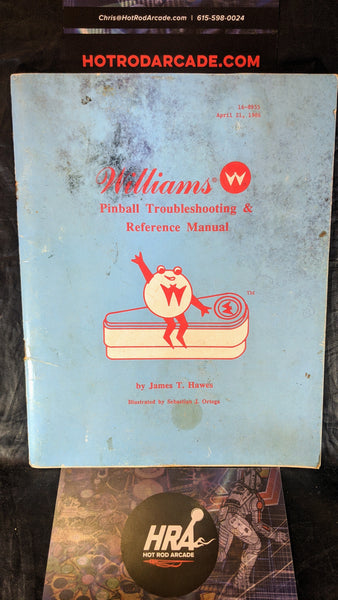 Williams Troubleshooting Reference - Pinball Manual - Schematics - Instructions - Used Copy