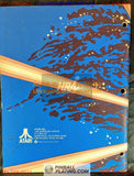 Tempest - Atari - Arcade Manual - Schematics - Instructions - Book - Original Used Copy - FREE SHIPPING!