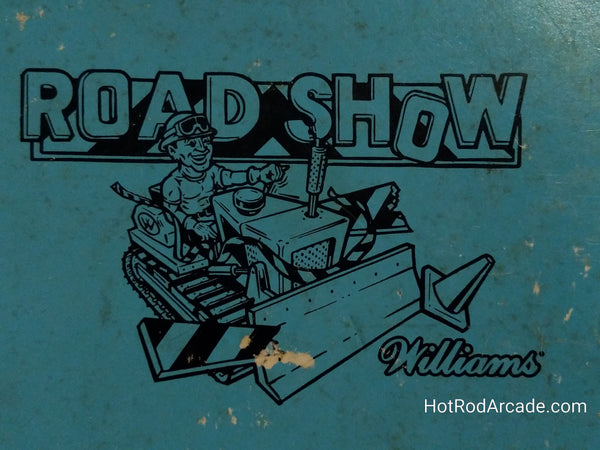 Road Show - Williams - Pinball Manual  - Schematics - Instructions - Book - Original Used Copy - FREE SHIPPING!