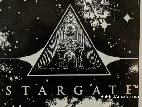 Stargate - Gottlieb - Pinball Manual  - Schematics - Instructions - Book - Original Used Copy - FREE SHIPPING!