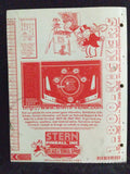 Monopoly - Stern - Pinball Manual  - Schematics - Instructions -Used Copy