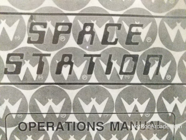 Space Station - Williams - Pinball Manual  - Schematics - Instructions - Book - Original Used Copy - FREE SHIPPING!
