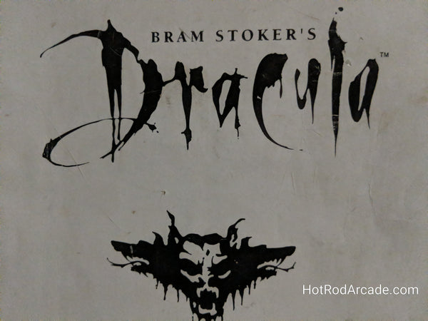 Bram Stoker's Dracula - Williams - Pinball Manual  - Schematics - Instructions - Used Copy