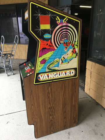 Centuri Vanguard Upright Arcade Game - Works 100%