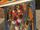 Bally Evel Knievel Pinball Machine - Shopped and Working 100%