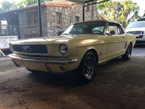 1966 Ford Mustang Convertible Springtime Yellow 289 - Runs Well Great Driver - Belonged To A Close Friend - 3rd Owner