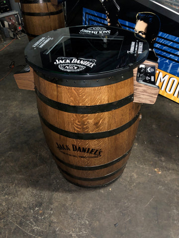More Coming 2021 - Tennessee Whiskey Barrel Multigame - Sixty Classic Games in One Unit - 1 Year Warranty