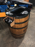 Tennessee Whiskey Barrel Multigame - Sixty Classic Games in One Unit - 1 Year Warranty