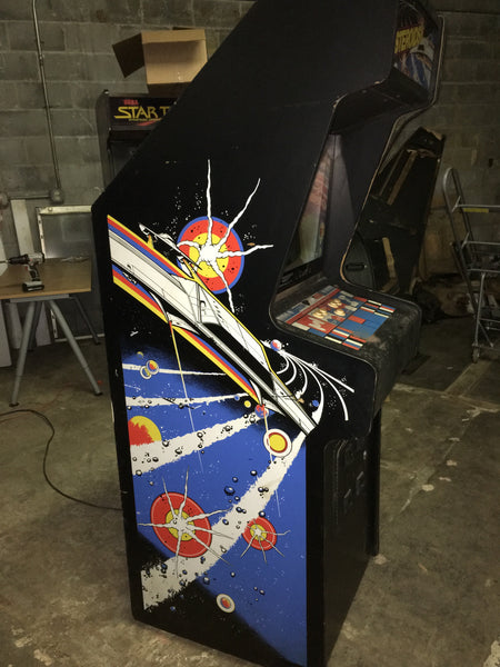 Atari Asteroids Vector Arcade Game - electronics fully rebuilt - works 100%