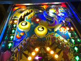Bally Mr and Ms Pac-Man Pinball Machine - WORKS 100% - New MPU - LEDs - New Displays - NICE