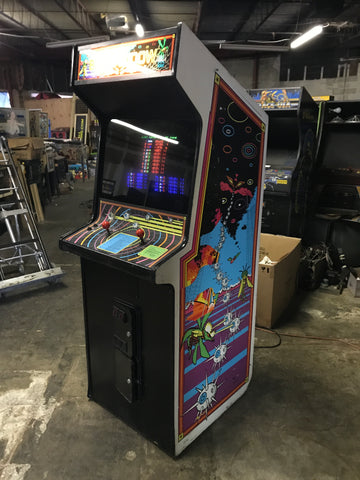 Atari Black Widow Color Vector XY Arcade Game - Everything Rebuilt Electronically