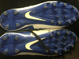 Nike Huarache V 5 Elite Lacrosse Cleats Men's Size 11 Blue White 807142-411