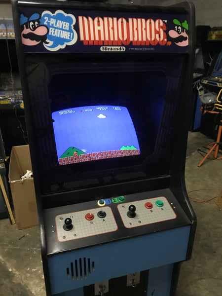 Nintendo Super Mario Bros VS System - Nice Cab - Beautiful Monitor!