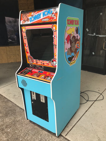 Nintendo Donkey Kong Arcade Game - Original - Rebuilt Monitor - Works Great!