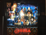 Copperhead Frankenstein Pinball Machine - Custom Sega Mary Shelly's Frankenstein - Clear Coated, Polished Copper Trim and Accessories - Shopped and and Ready