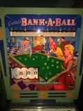 1965 Gottlieb Bank-A-Ball Pinball Machine - Top 10 EM Machine - Works Great!