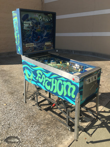 FATHOM Bally Pinball Machine BEAUTIFUL! New Boards - Works Great!