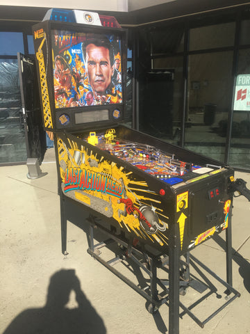 Data East Last Action Hero Pinball - Just Shopped and Repaired! - Nice Game!