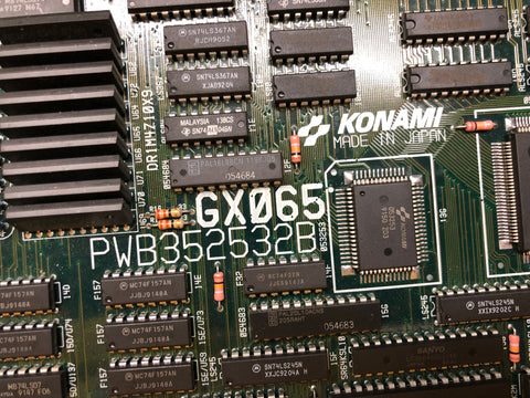 Konami XMEN 6 Player Board PCB Repaired Sound Chip WORKING X-Men Arcade Mother Board PCB CPU TESTED 100%