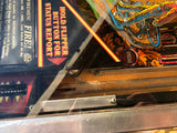 Williams FIRE! Pinball Machine! - Working game, needs restoration, sold as is.