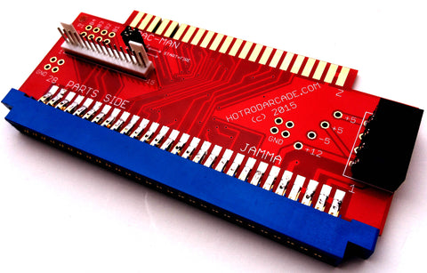 Jamma Board Adapter to Pac-man or Ms Pac-man Harness Multipac