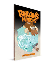 BINWIN'S MINIONS VOLUME 1 - WITH BOOKPLATE SIGNED BY TAVIS MAIDEN & CORY CASONI