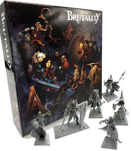 BRUTALITY BOARD GAME - BRUTAL BUNDLE