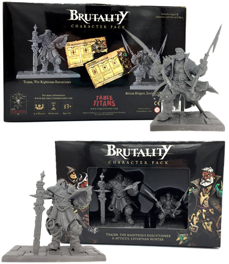 BRUTALITY: TRAJAN, THE RIGHTEOUS EXECUTIONER & ATTICUS, LEVIATHAN HUNTER