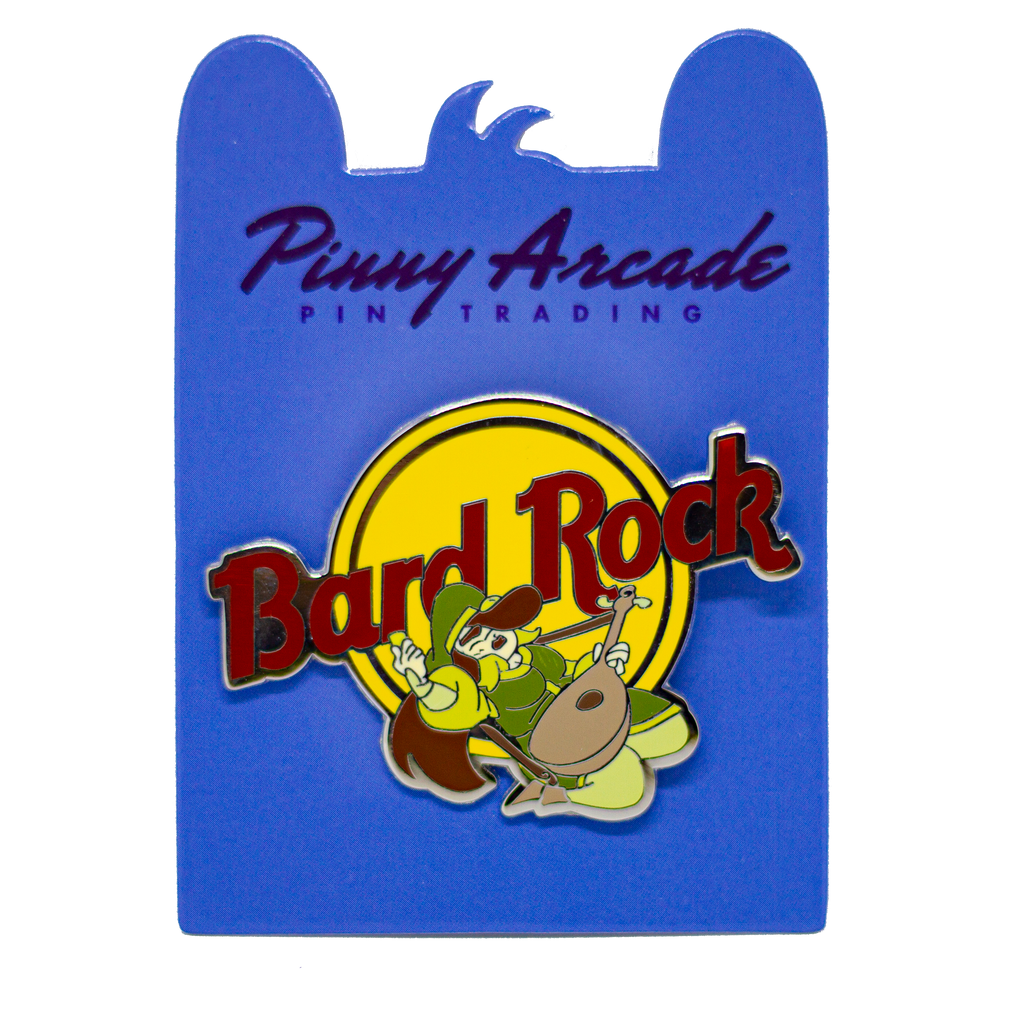 Bard Rock Pin