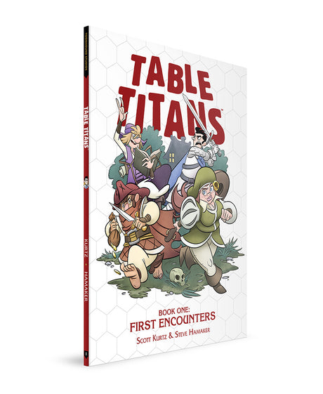 TABLE TITANS VOLUME 1 - WITH BOOKPLATE SIGNED BY SCOTT KURTZ