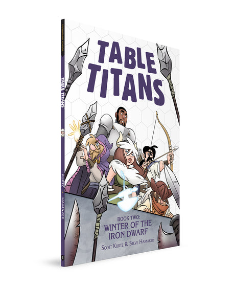 TABLE TITANS VOLUME 2 - WITH BOOKPLATE SIGNED BY SCOTT KURTZ