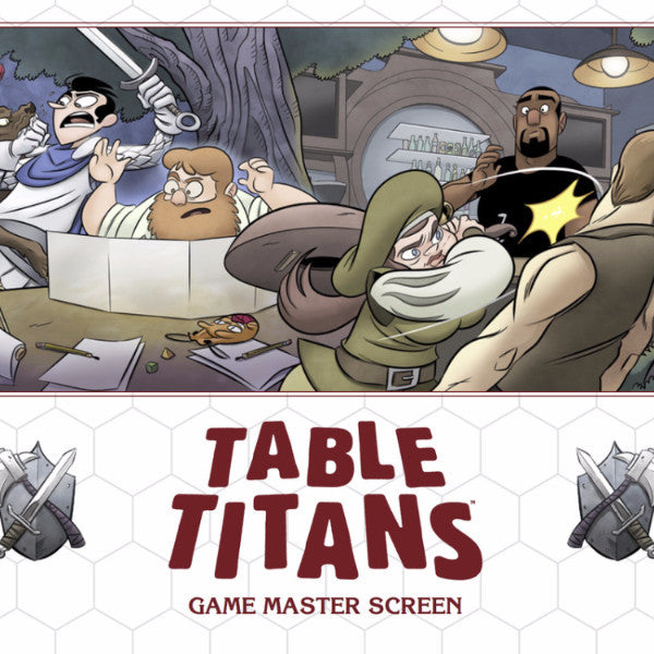 Table Titans Game Master Screen