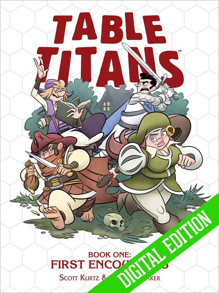 TABLE TITANS VOLUME 1 - DIGITAL EDITION