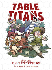 TABLE TITANS VOLUME 1 - SIGNED BY SCOTT KURTZ