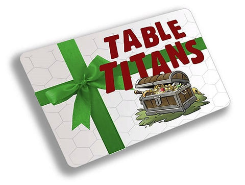 TABLE TITANS GIFT CARD