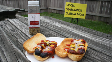 Grilling brats with Canada's Favorite Steak Seasoning