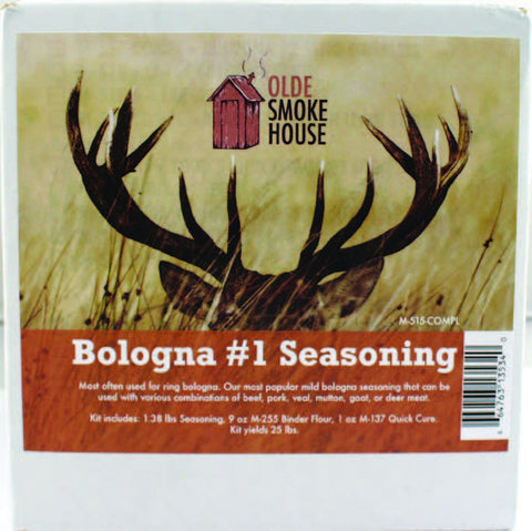 Complete Bologna #1 Seasoning Kit