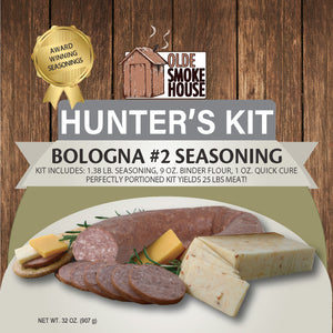 Hunter's Kit (Bologna 2 Seasoning, 32)