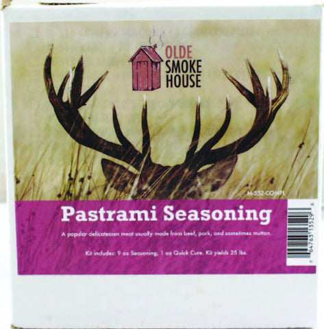Complete Pastrami Seasoning Kit