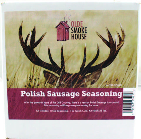 Complete Polish Sausage Seasoning Kit