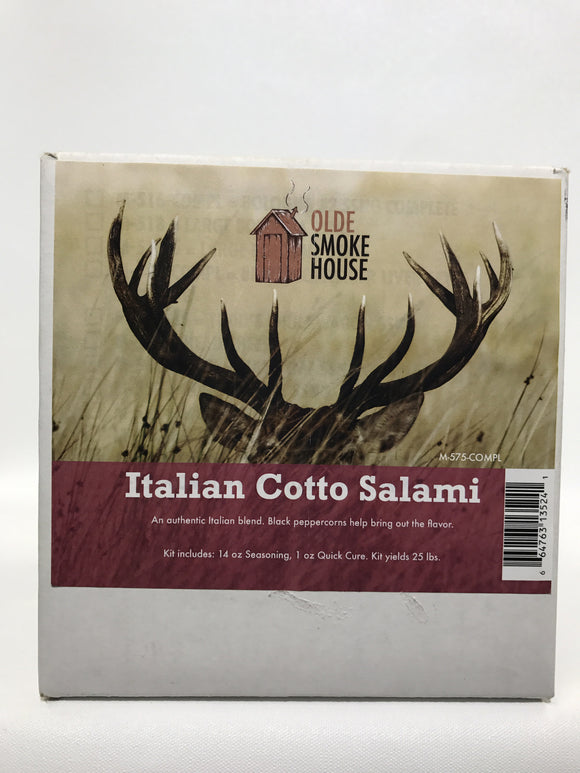 Complete Italian Cotto Salami Kit