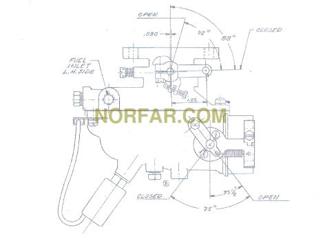 Sullair 47139 Carburetor