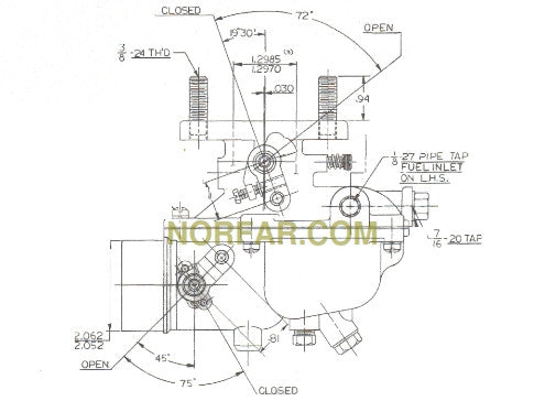 Ford 94 Carburetor Diagram. Ford. Auto Parts Catalog And