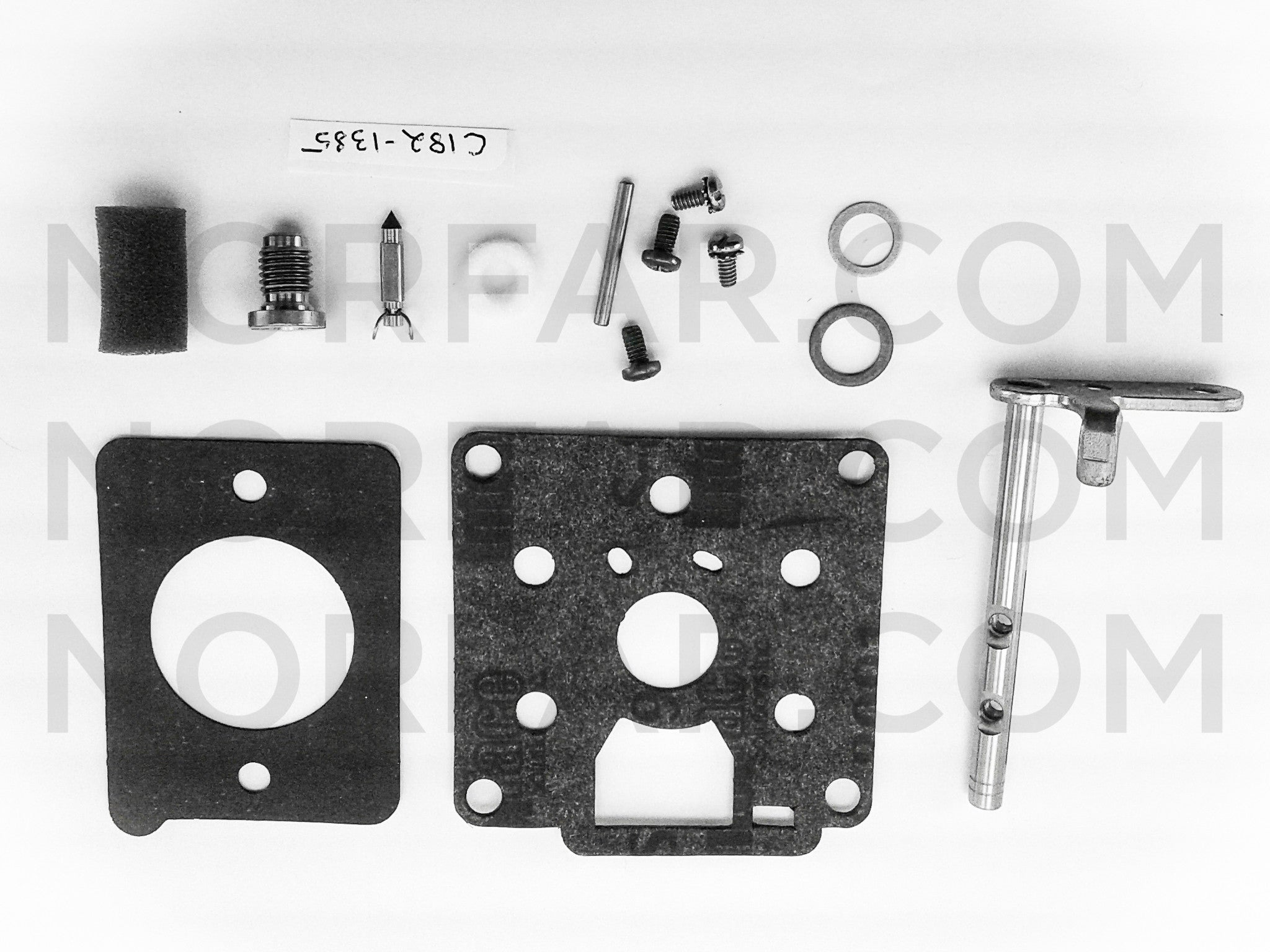 Zenith carburetor kits norfar zenith c182 1385 carburetor kit ccuart Image collections