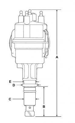 continental 4 cylinder engine distributor f4 y4 series norfar Engine Pulley Diagram continental 4 cylinder engine distributor f4 and y4 series 12 volt negative ground