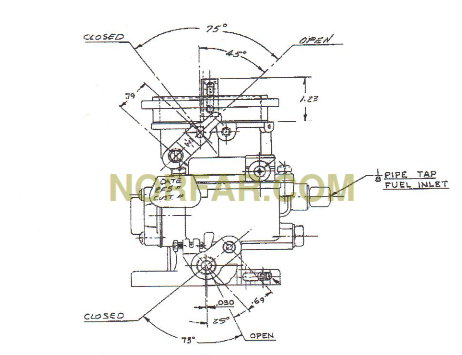 Ford 172 Industrial Engine Parts Diagram